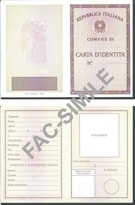 Guida alla carta d 39 identit costi rilascio rinnovo - Modelli di colorazione per bambini ...
