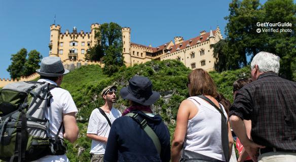 Tour dei castelli di Neuschwanstein e Hohenschwangau
