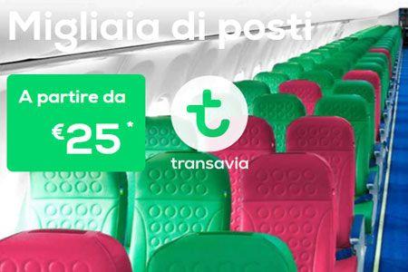 Transavia offerte voli per amsterdam parigi e monaco da for Offerte voli amsterdam