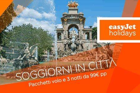 Easyjet holidays offerte volo hotel per soggiorni in for Soggiorno amsterdam economico