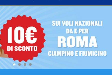Ryanair offerte voli low cost da roma a partire da 1 for Mobili low cost roma