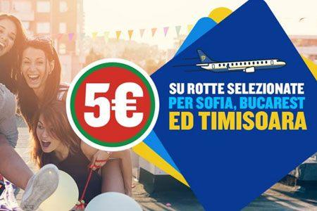 Ryanair 5 Di Sconto Sui Voli Per Sofia Bucarest E Timisoara