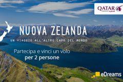 Concorso eDreams: Vinci un Volo per la Nuova Zelanda