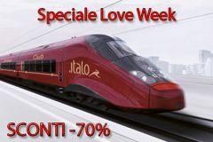 Italo treno: Speciale San Valentino – Sconti del 70%
