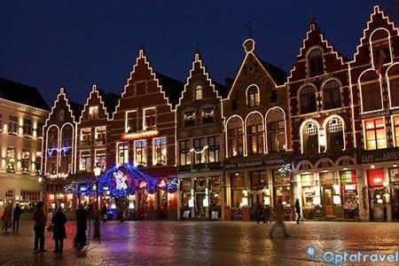 Mercatini di Natale a Bruges: Volo + 3 notti in hotel a 100€