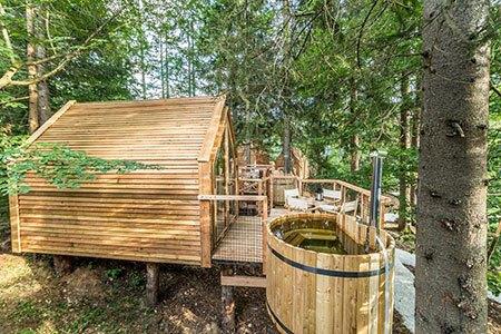Glamping Lago di Bled: Soggiorno in casa sull\'albero da 32 ...