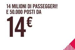 Offerte Volotea: 50.000 posti da soli 14€