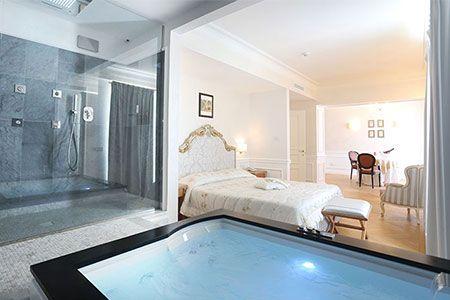 Soggiorno relax in puglia suite con idromassaggio a 55 - Idromassaggio in camera da letto bari ...