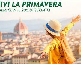 Codice sconto Alitalia Voli nazionali scontati del 20%