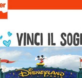 Concorso Kinder Vinci il Sogno: 10 Viaggi Disneyland Paris